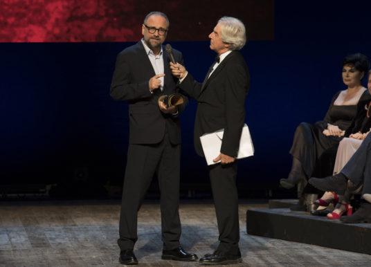 Serata conclusiva per il Premio le Maschere 2017 al Teatro Mercadante