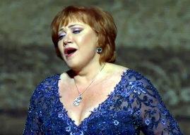 Olga Borodina alla sua Prima al Teatro di  San Carlo
