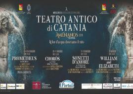 Passioni classiche con l'Amenanos Festival al Teatro Greco-Romano di Catania